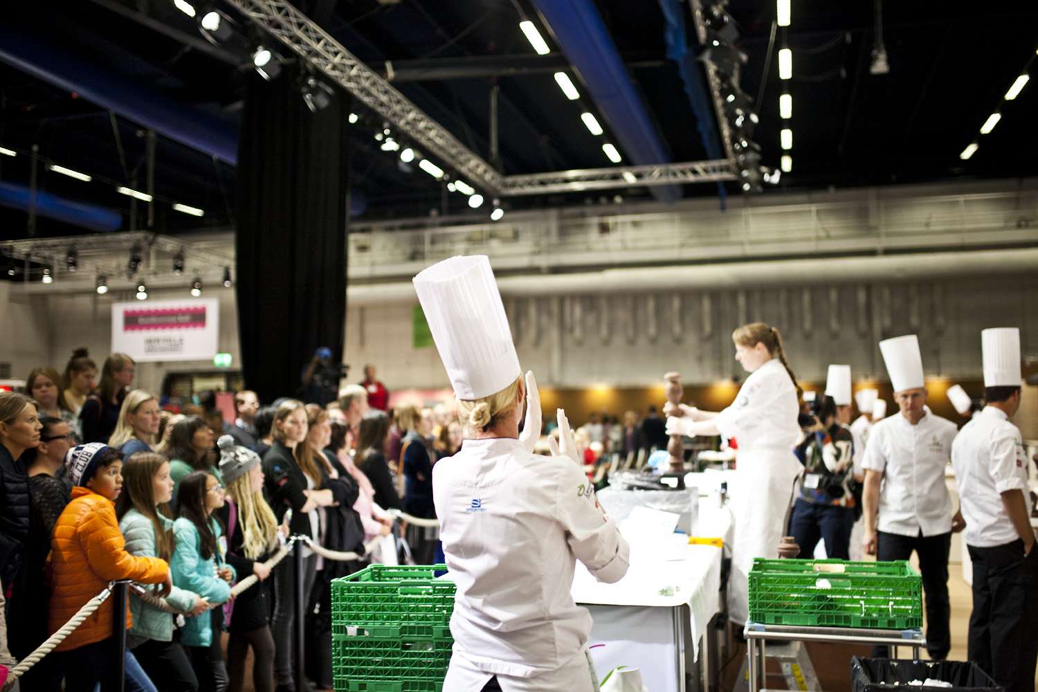Stockholmsmässan 2015 Nordic Bakery and Pastry cup. Foto: Henrik Sellin